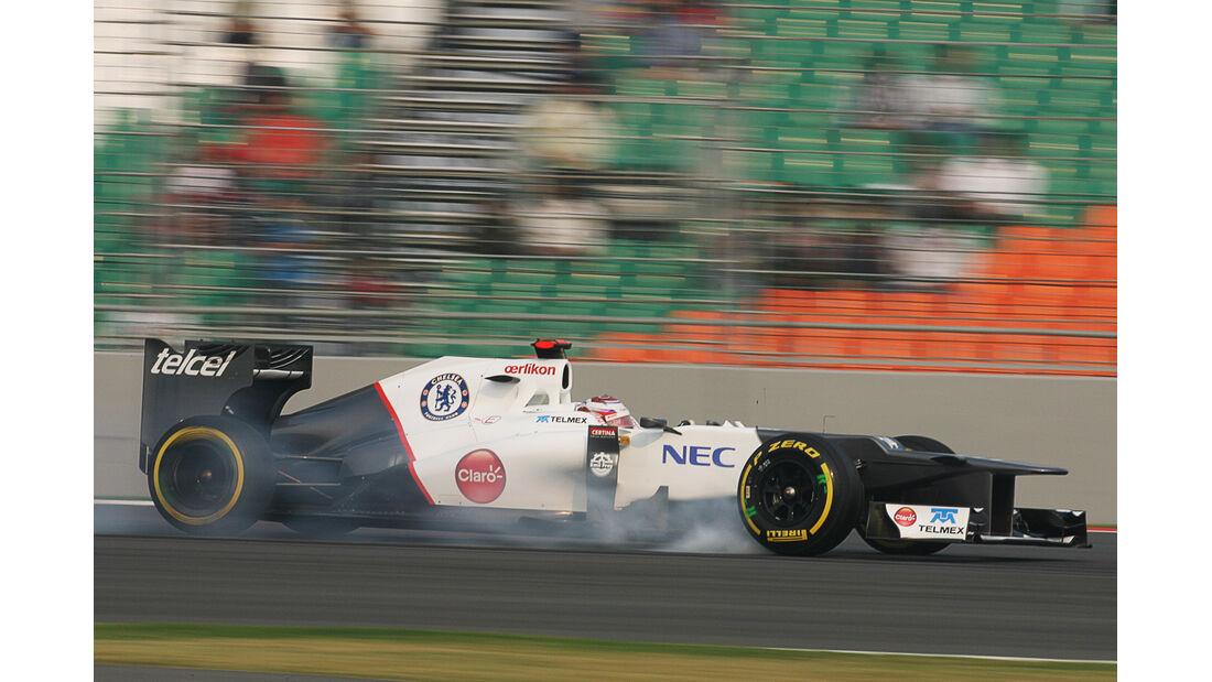 Kamui Kobayashi GP Indien 2012