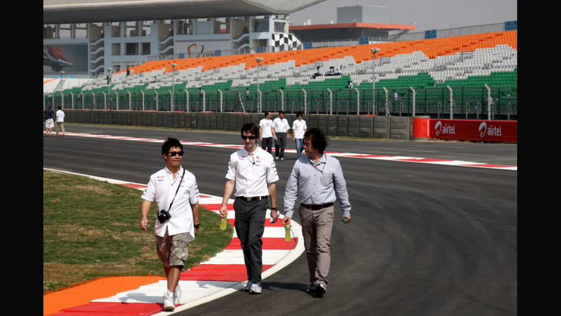 Kamui Kobayashi - GP Indien - 27.10.2011