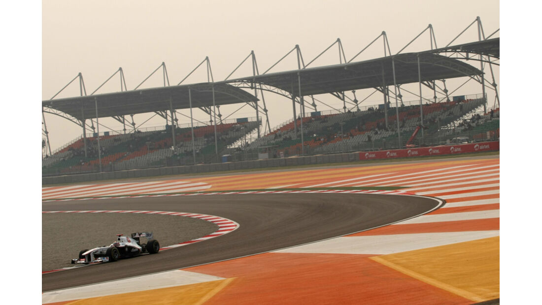 Kamui Kobayashi - GP Indien - Training - 28.10.2011