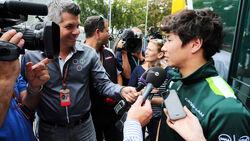 Kamui Kobayashi GP Italien 2014 Monza Formel 1