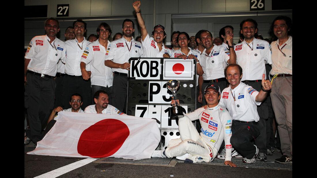 Kamui Kobayashi GP Japan 2012
