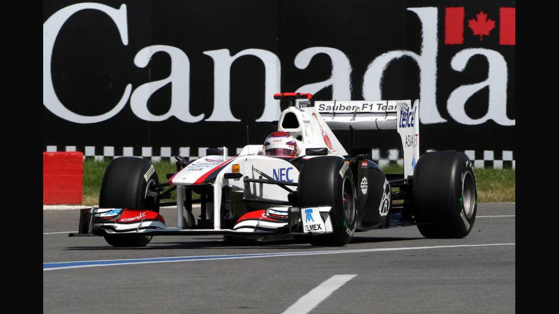Kamui Kobayashi - GP Kanada 2011