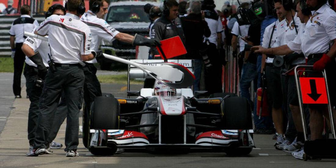 Kamui Kobayashi GP Kanada 2011