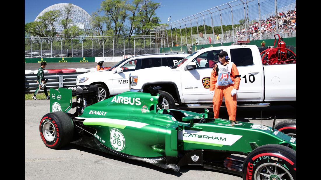 Kamui Kobayashi - GP Kanada 2014 - Formel 1 - Tops & Flops