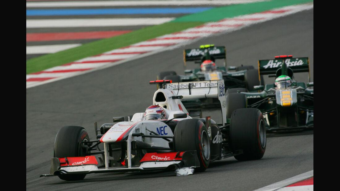 Kamui Kobayashi GP Korea 2011