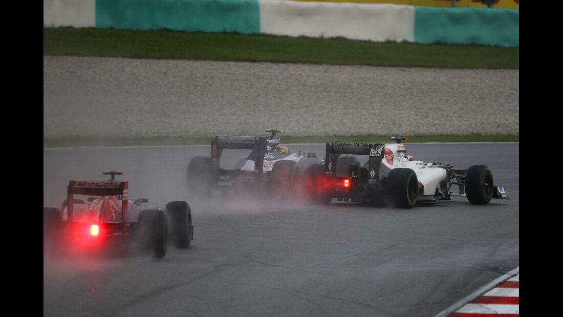Kamui Kobayashi GP Malaysia 2012