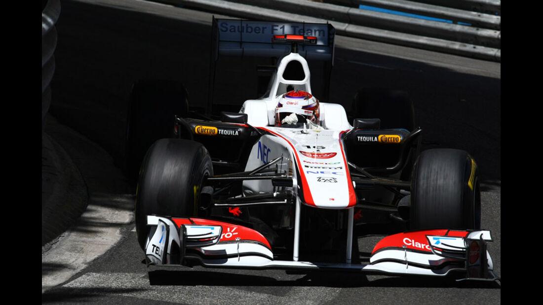 Kamui Kobayashi GP Monaco 2011