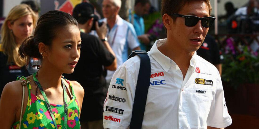 Kamui Kobayashi - GP Singapur - 23. September 2011