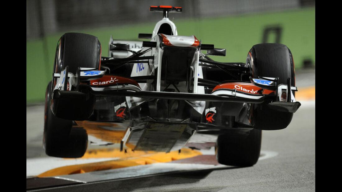 Kamui Kobayashi - GP Singapur - 24. September 2011