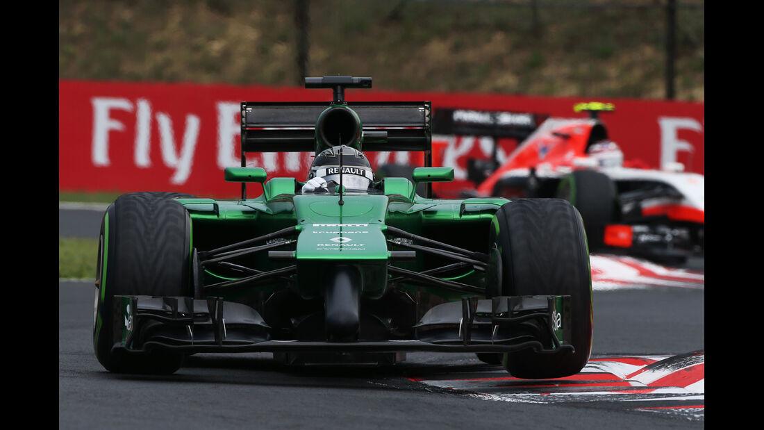 Kamui Kobayashi - GP Ungarn 2014