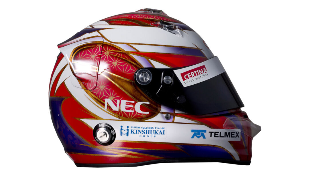 Kamui Kobayashi Helm 2012