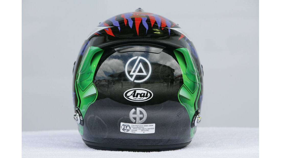 Kamui Kobayashi Helm GP Brasilien 2011