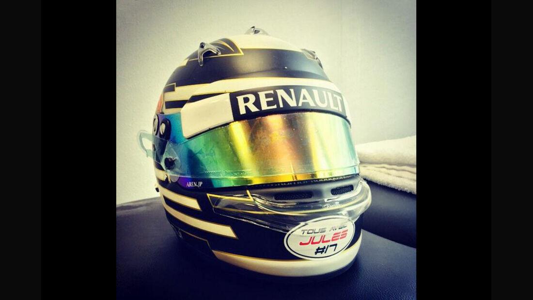 Kamui Kobayashi - Jules Bianchi-Tribute - GP Russland 2014