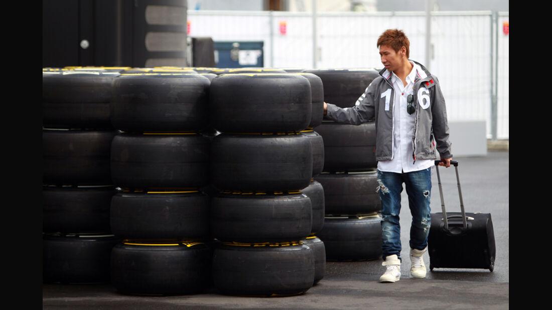Kamui Kobayashi Pirelli 2011