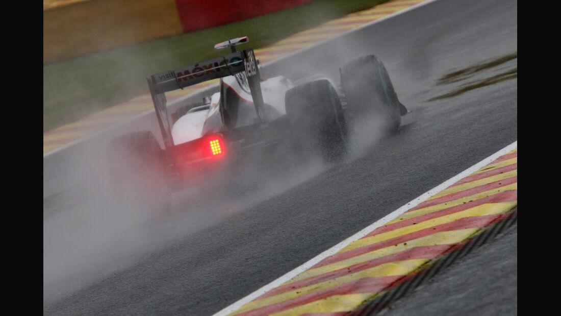 Kamui Kobayashi - Sauber - Formel 1 - GP Belgien - Spa-Francorchamps - 31. August 2012