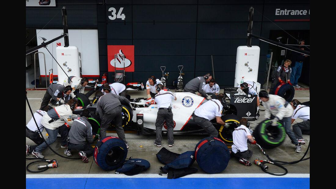 Kamui Kobayashi - Sauber - Formel 1 - GP England - Silverstone - 7. Juli 2012