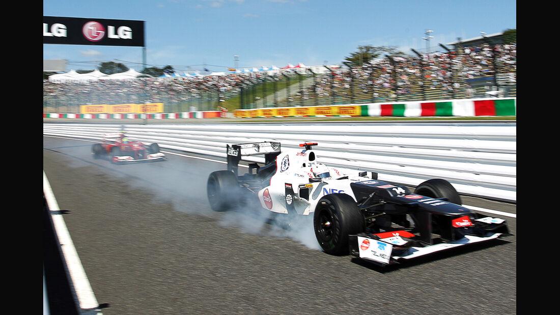 Kamui Kobayashi - Sauber - Formel 1 - GP Japan - Suzuka - 5. Oktober 2012