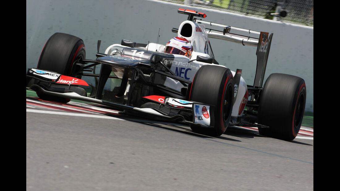 Kamui Kobayashi - Sauber - Formel 1 - GP Kanada - 10. Juni 2012