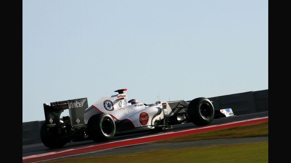 Kamui Kobayashi - Sauber - Formel 1 - GP USA - Austin - 16. November 2012