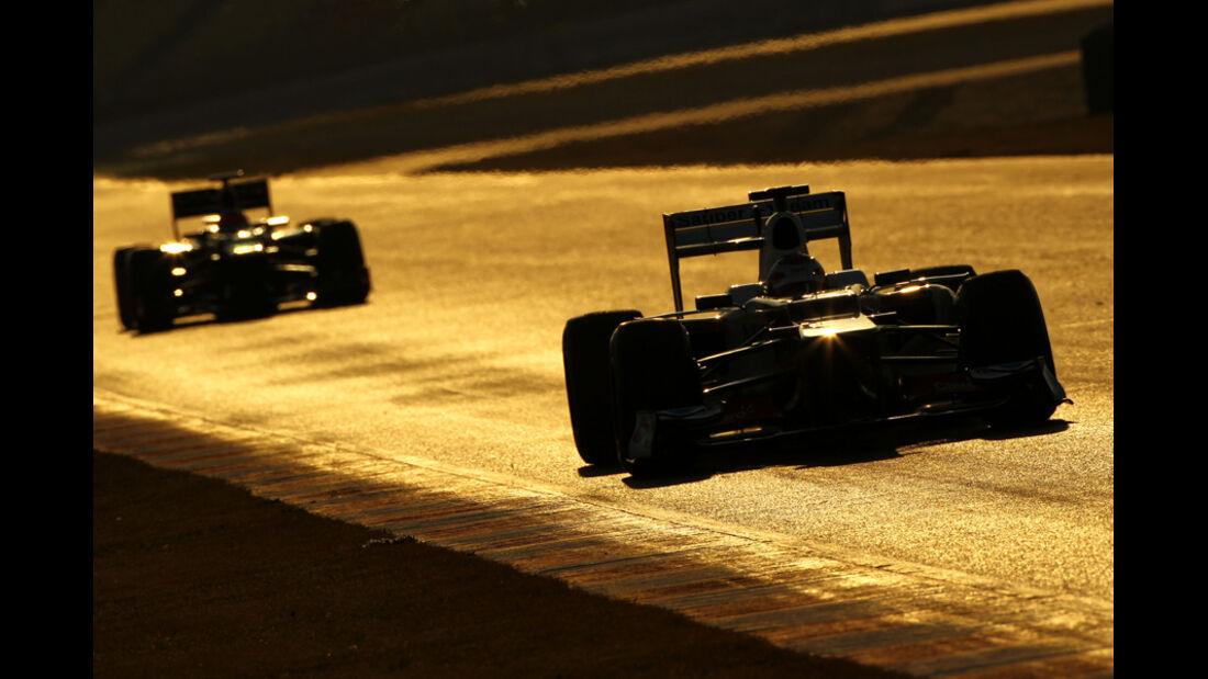 Kamui Kobayashi - Sauber - Formel 1-Test - Barcelona - 2012