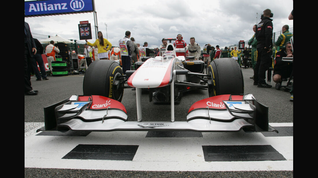 Kamui Kobayashi Sauber GP Belgien 2011