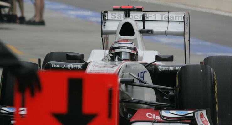 Kamui Kobayashi Sauber GP Korea 2011