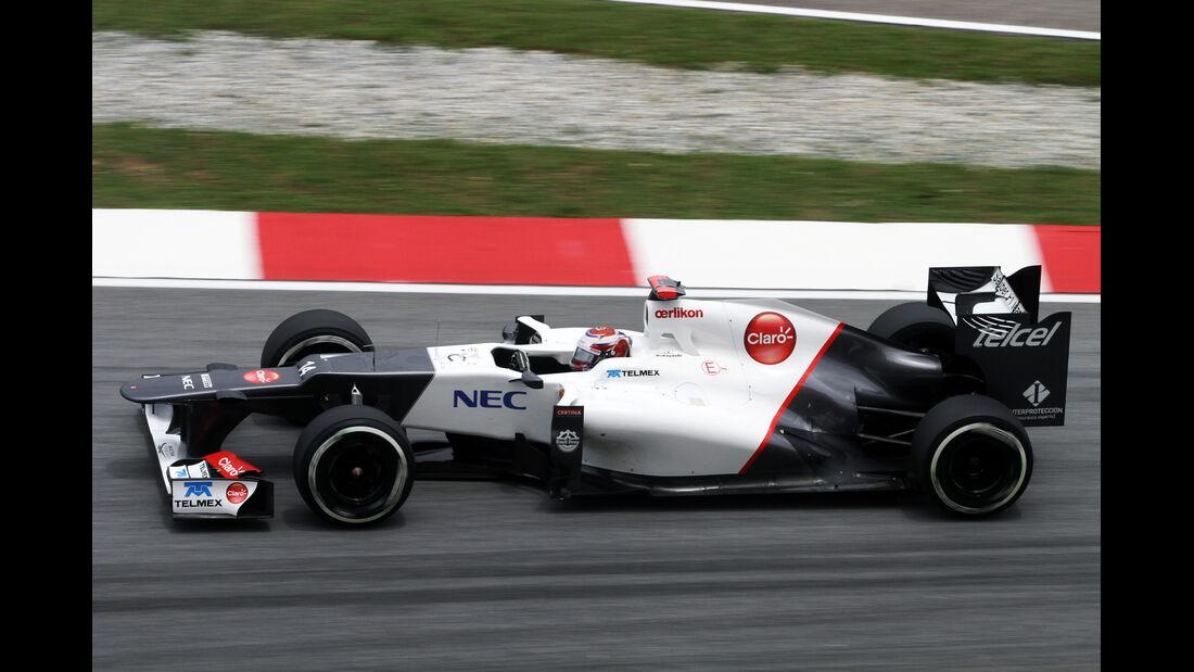 Kamui Kobayashi - Sauber - GP Malaysia 2012