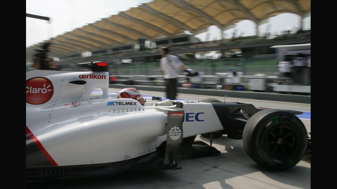 Kamui Kobayashi - Sauber - GP Malaysia - Training - 23. März 2012