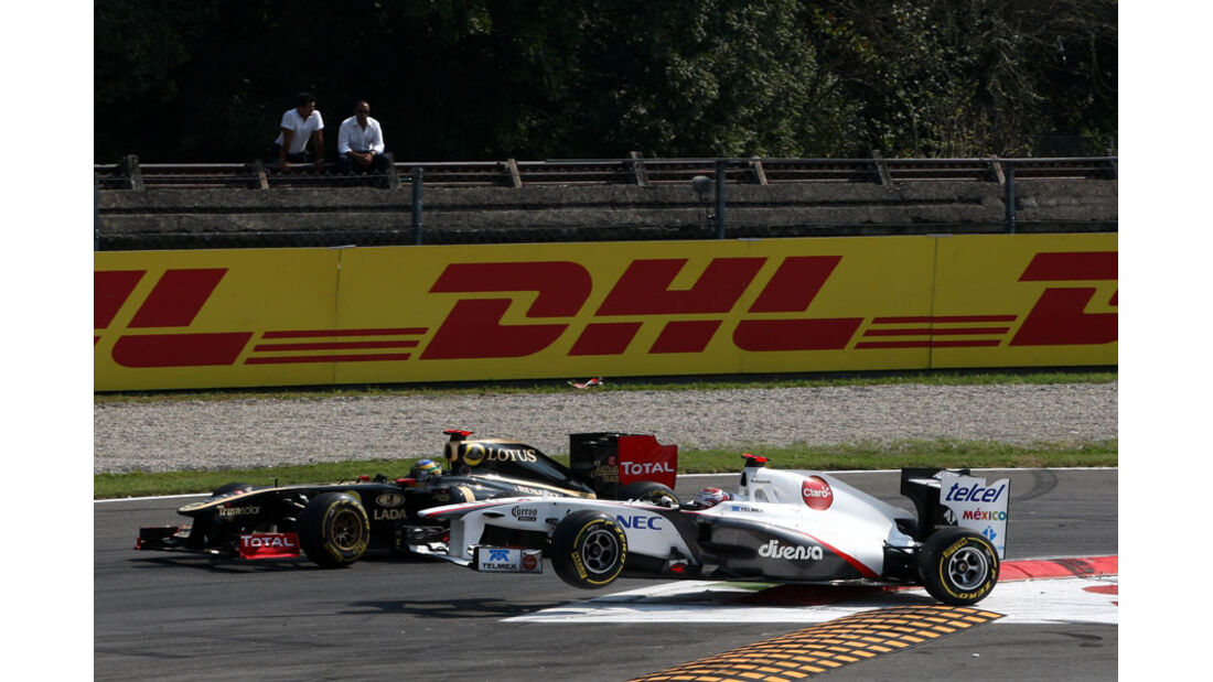 Kamui Kobayashi Sprung GP Italien Monza 2011