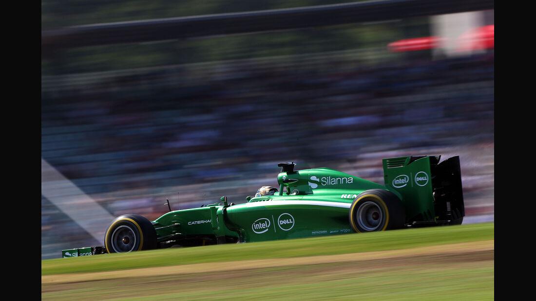 Kamui Kobyashi - Caterham - Formel 1 - GP Deutschland - Hockenheim - 19. Juli 2014