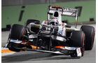 Kamui Kobyashi - Sauber - Formel 1 - GP Singapur - 21. September 2012