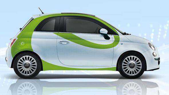 Karabag Fiat 500 E, Elektroauto