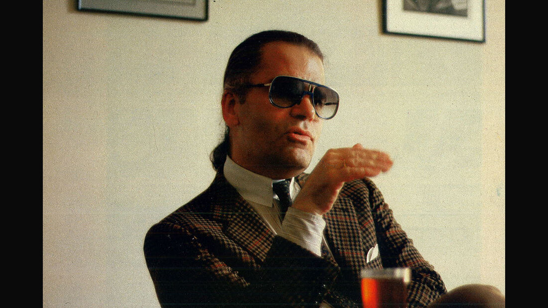 Karl Lagerfeld Interview 1985