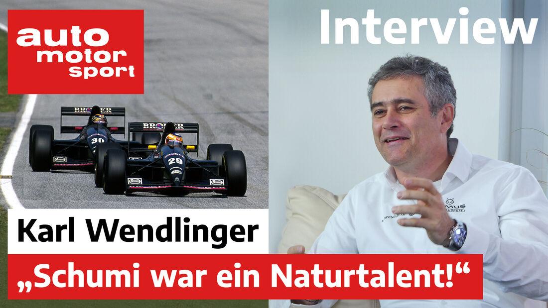Karl Wendlinger - Formel Schmidt 2020