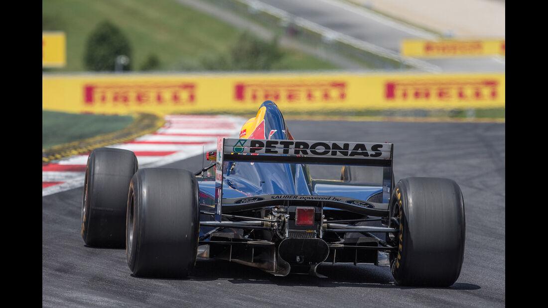 Karl Wendlinger - Sauber C14 - GP-Legenden - GP Österreich 2014