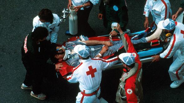 Karl Wendlinger - Unfall - Monaco 1994