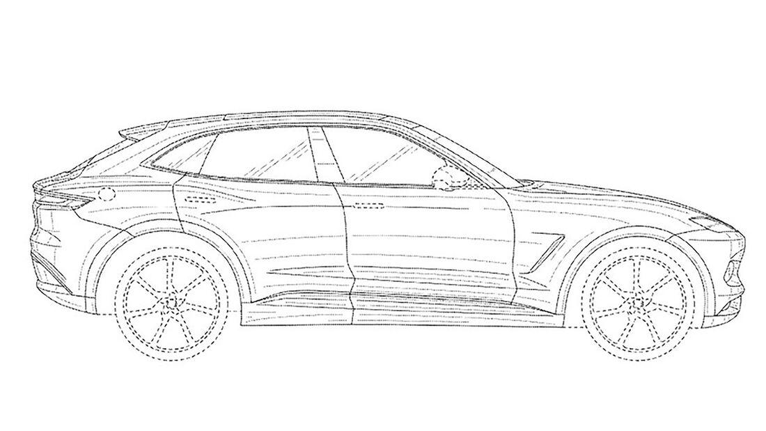 Karma SUV Patentzeichnungen