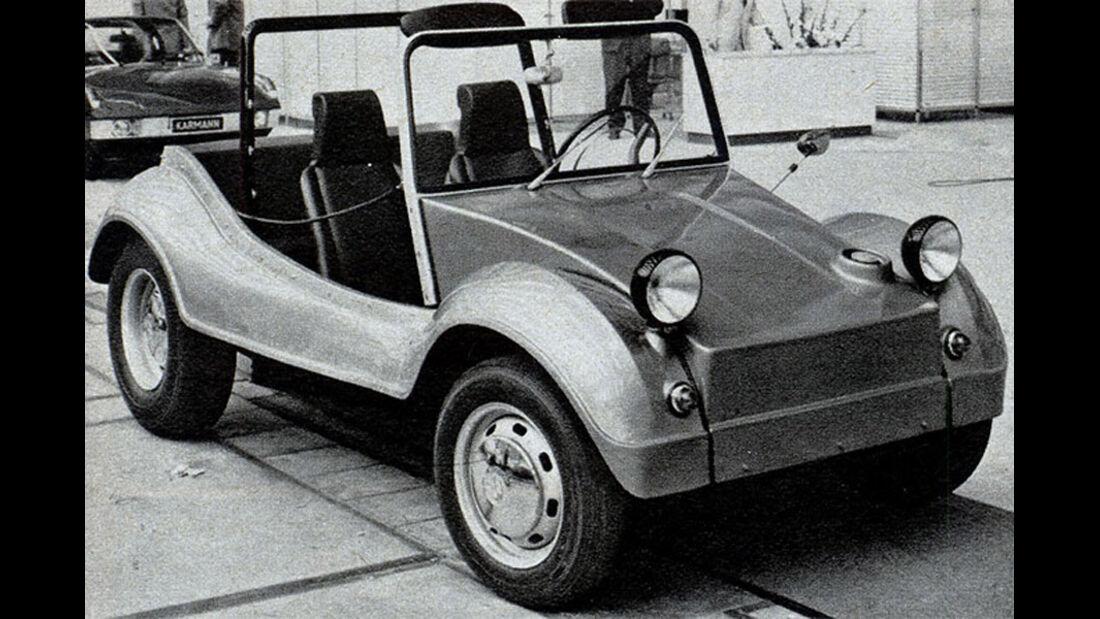 Karmann, Buggy, IAA 1969