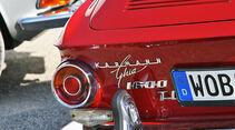 Karmann-Ghia-Schriftzug