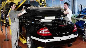 Karmann Produktion Mercedes CLK Cabrio