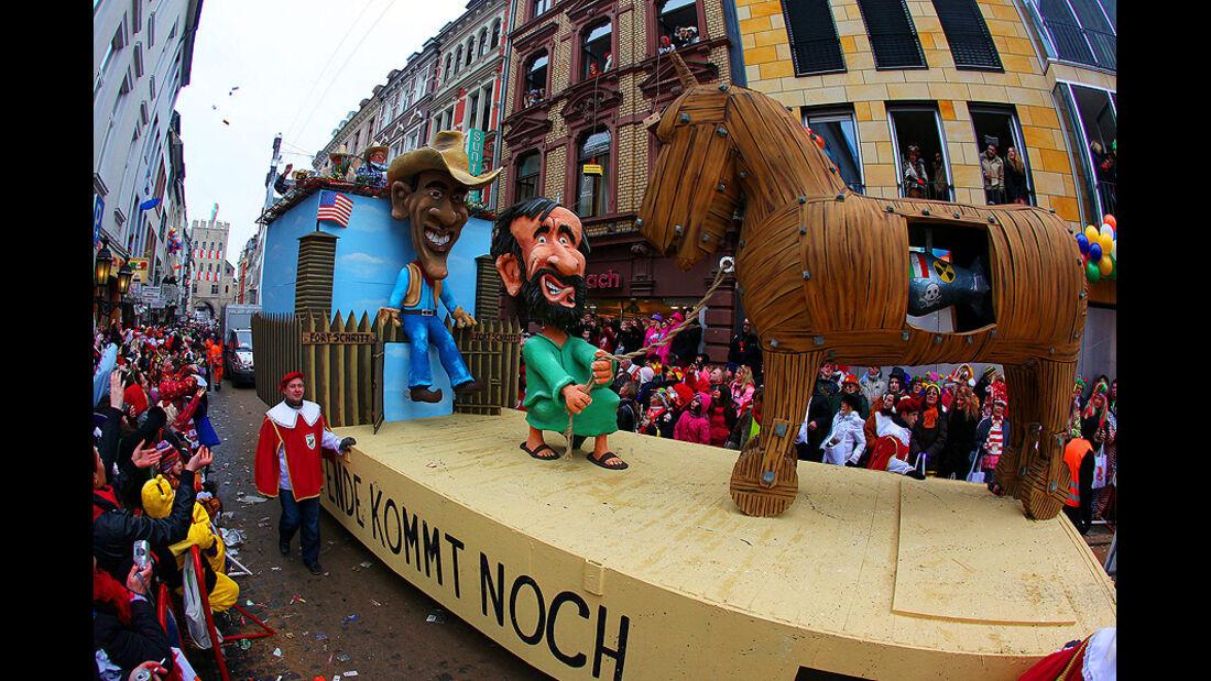 Karneval 2010, Motivwagen