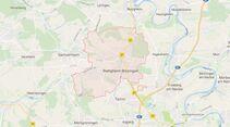 Karte Bietigheim-Bissingen