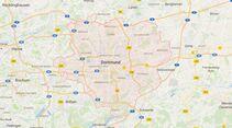 Karte Dortmund