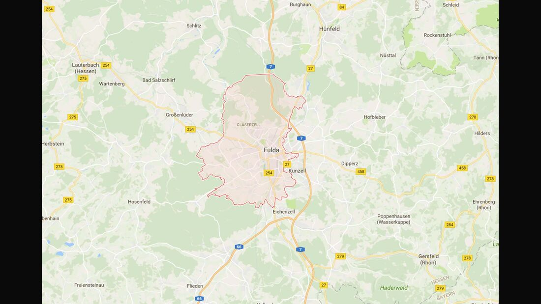 Karte Fulda