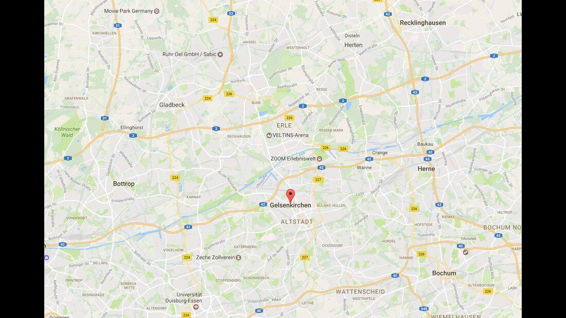 Karte Gelsenkirchen