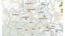 Karte, Stuttgart