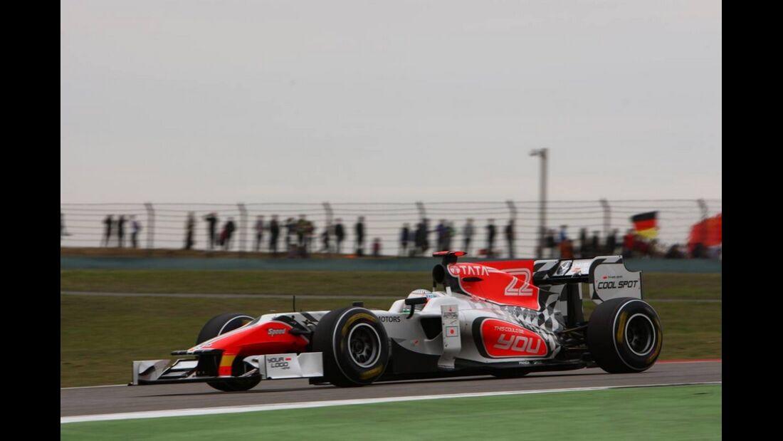 Karthikeyan Formel 1 GP China 2011