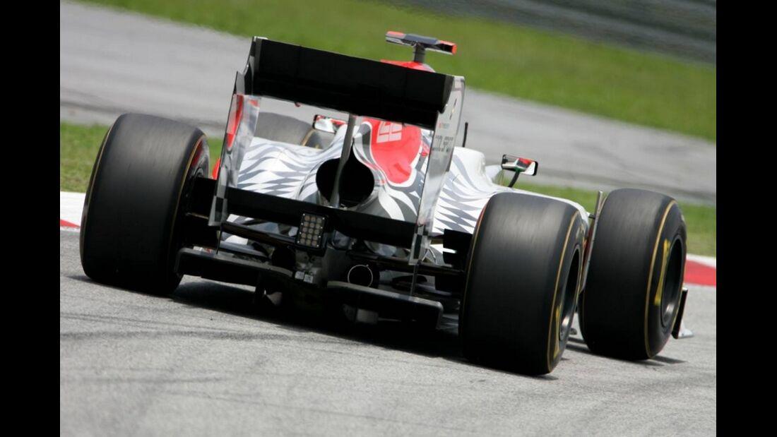 Karthikeyan GP Malaysia 2011 Formel 1