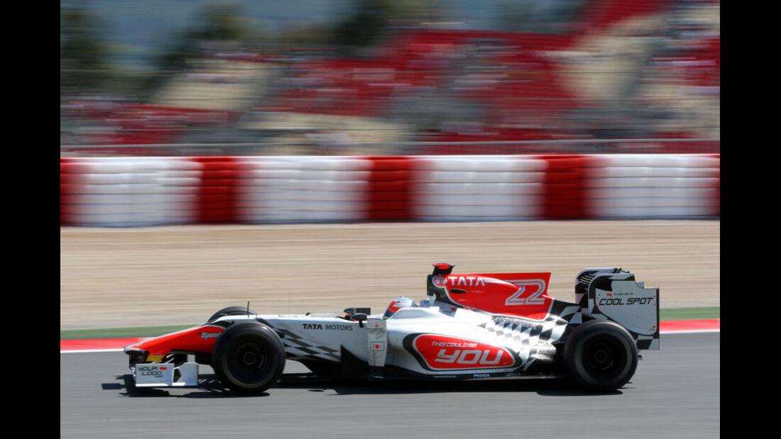Karthikeyan GP Spanien 2011