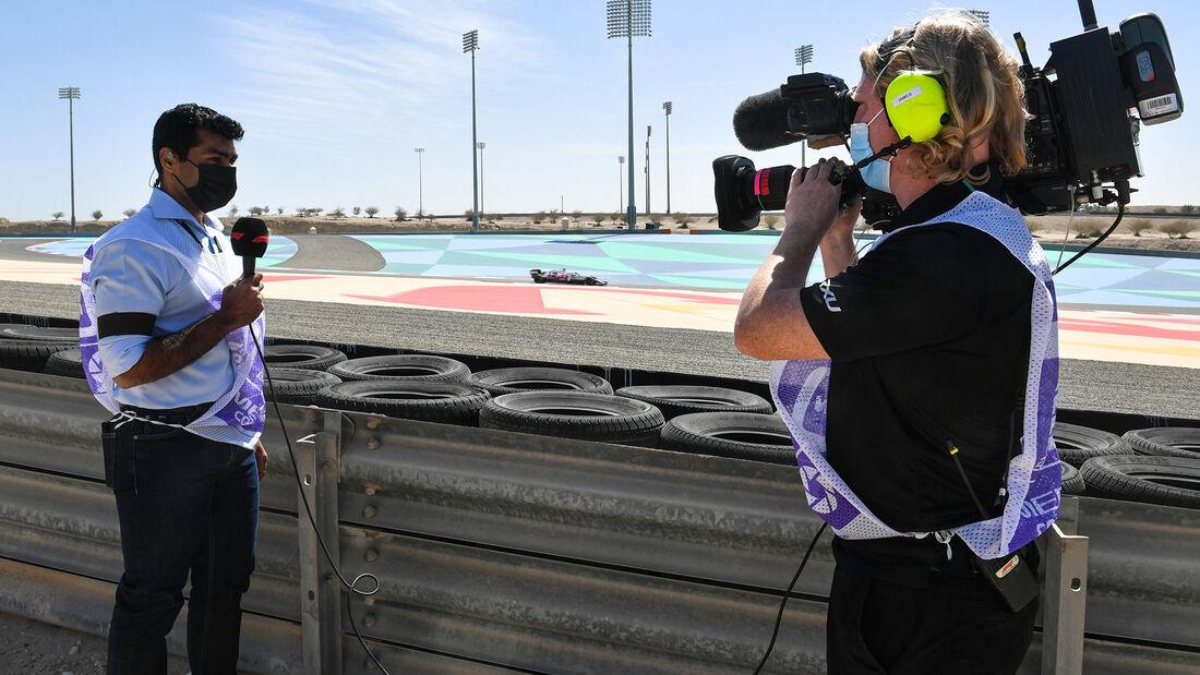 Karun Chandhok - Formel 1 - Test - Bahrain - 14. März 2021